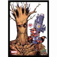 Marvel Card Sleeves: Rocket and Groot (65) Thumb Nail