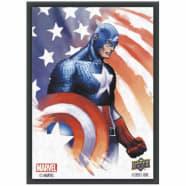 Marvel Card Sleeves: Captain America (65) Thumb Nail