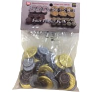 Swords & Sails: Historic Metal Coins 4 Player Pack Thumb Nail