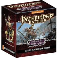 Pathfinder Battles: Wrath of the Righteous Gargantuan Demon Lord Deskari Thumb Nail