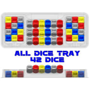Zen Bins: SW Destiny All Dice - Trays 3-Pack (Clear) Thumb Nail