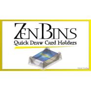 Zen Bins: Quick Draw Mini American Card Holder (Clear) Thumb Nail