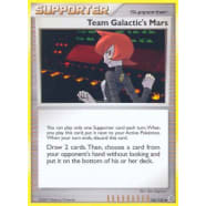 Team Galactic's Mars - 126/132 Thumb Nail