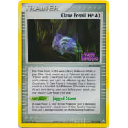 Claw Fossil - 91/110 (Reverse Foil) Thumb Nail
