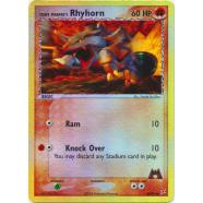 Team Magma's Rhyhorn - 68/95 (Reverse Foil) Thumb Nail