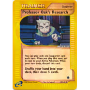Prof. Oak's Research - 149/165 (Reverse Foil) Thumb Nail