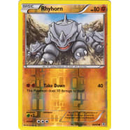 Rhyhorn - 49/83 (Reverse Foil) Thumb Nail