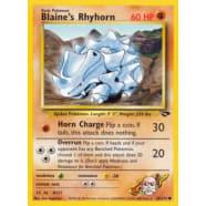 Blaine's Rhyhorn - 65/132 Thumb Nail