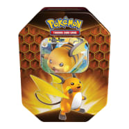 Pokemon - Hidden Fates Tin - Raichu-GX  Thumb Nail
