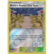 Brock's Pewter City Gym - 54/68 (Reverse Foil) Thumb Nail