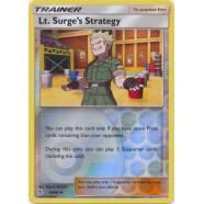 Lt. Surge's Strategy - 60/68 (Reverse Foil) Thumb Nail