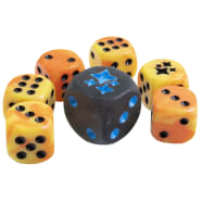 Pokemon - Hidden Fates Dice Set of 6 + Bonus Die Thumb Nail