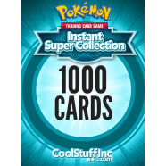 CoolStuffInc Forged Pokemon 1000 Card Super Collection Thumb Nail