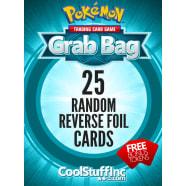 CoolStuffInc.com Reverse Foil Pokemon Grab Bag - 25 Random Reverse Foil Single Cards! Thumb Nail