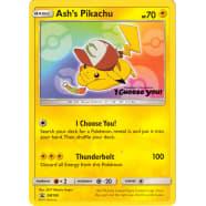 Ash's Pikachu - SM108 Thumb Nail
