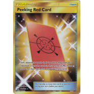 Peeking Red Card (Secret Rare) - 169/156 Thumb Nail