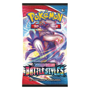 Pokemon - SWSH Battle Styles Booster Pack Thumb Nail
