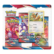 Pokemon - SWSH Battle Styles 3 Booster Blister - Eevee Thumb Nail