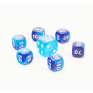 Pokemon - SWSH Battle Styles Blue Dice Set of 6 + Bonus Die Thumb Nail