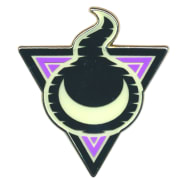 Pokemon - Stow-on-Side Gym Ghost Badge Collector's Pin Thumb Nail