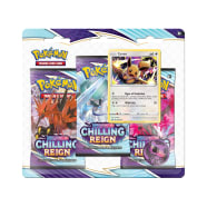 Pokemon - SWSH Chilling Reign 3 Booster Blister - Eevee Thumb Nail