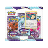 Pokemon - SWSH Chilling Reign 3 Booster Blister - Snorlax Thumb Nail