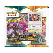 Pokemon - SWSH Darkness Ablaze 3 Booster Blister - Eevee Thumb Nail