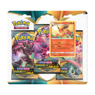 Pokemon - SWSH Darkness Ablaze 3 Booster Blister - Flareon Thumb Nail