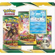 Pokemon - SWSH Evolving Skies 3 Booster Blister - Eiscue Thumb Nail