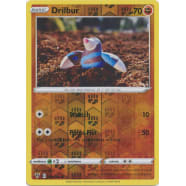 Drilbur - 091/185 (Reverse Foil) Thumb Nail