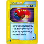 Fast Ball - 124/144 (Reverse Foil) Thumb Nail
