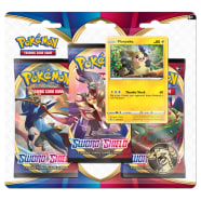 Pokemon - Sword and Shield 3 Booster Blister - Morpeko Thumb Nail