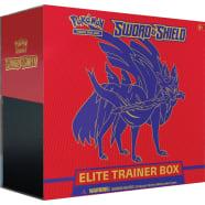 Pokemon - Sword and Shield Elite Trainer Box - Zacian Thumb Nail
