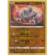 Rhyhorn - 097/202 (Reverse Foil) Thumb Nail