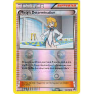 Misty's Determination - 104/122 (Reverse Foil) Thumb Nail