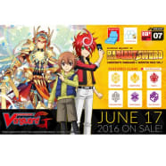 Cardfight!! Vanguard G - Glorious Bravery of Radiant Sword Booster Pack Thumb Nail