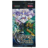 Cardfight!! Vanguard - The Answer of Truth Extra Booster Pack Thumb Nail