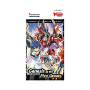 Cardfight!! Vanguard - overDress: Genesis of the Five Greats Booster Pack Thumb Nail
