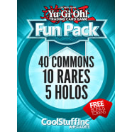 CoolStuffInc.com YuGiOh Fun Pack - 40 Commons, 10 Rares & 5 Holos! Thumb Nail