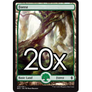 20 Battle for Zendikar Forest A 270 - Basic Land Thumb Nail