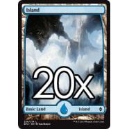 20 Battle for Zendikar Island B 256 - Basic Land Thumb Nail