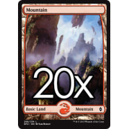 20 Battle for Zendikar Mountain B 266 - Basic Land Thumb Nail