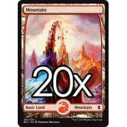20 Battle for Zendikar Mountain C 267 - Basic Land Thumb Nail