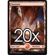 20 Battle for Zendikar Mountain D 268 - Basic Land Thumb Nail