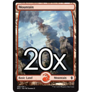 20 Battle for Zendikar Mountain E 269 - Basic Land Thumb Nail