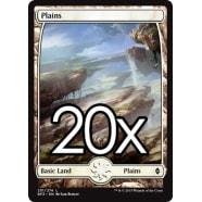 20 Battle for Zendikar Plains B 251 - Basic Land Thumb Nail