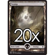 20 Battle for Zendikar Swamp B 261 - Basic Land Thumb Nail