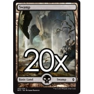 20 Battle for Zendikar Swamp C 262 - Basic Land Thumb Nail