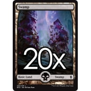 20 Battle for Zendikar Swamp D 263 - Basic Land Thumb Nail