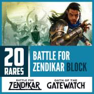 20 Battle for Zendikar Block Magic Rares Thumb Nail